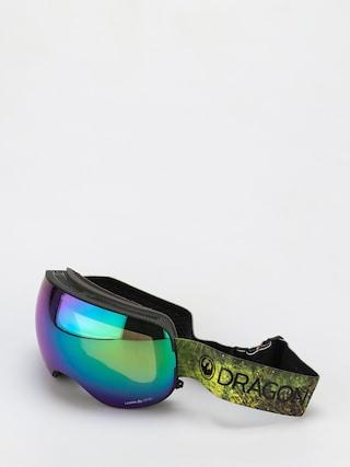 Bru00fdle na snowboard Dragon X2 (terrafirma/ll green ion/ll amber)