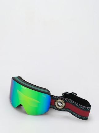 Bru00fdle na snowboard Quiksilver Switchback (true black capsule stripe)