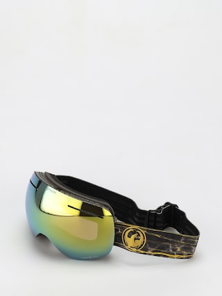 Brýle na snowboard Dragon X1 (14 karat/ll gold ion/ll amber)