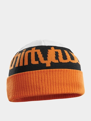 u010cepice ThirtyTwo Double Beanie (white/orange)
