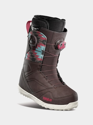Boty na snowboard ThirtyTwo Stw Double Boa Wmn (brown)