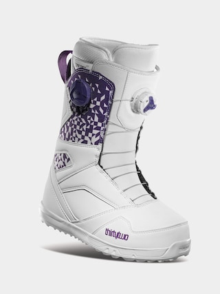Boty na snowboard ThirtyTwo Stw Double Boa Wmn (white/purple)