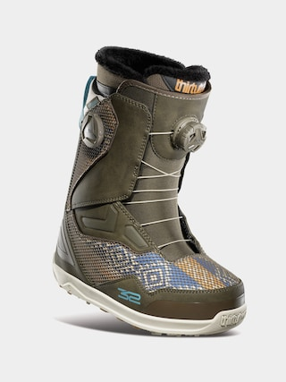 Boty na snowboard ThirtyTwo Tm 2 Double Boa Wmn (brown)