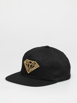 Kšiltovka Diamond Supply Co. Brilliant Unstructured Snapback ZD (black)
