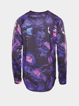 Spodnu00ed pru00e1dlo ThirtyTwo Longsleeve aktywny Ridelite Shirt Ls (black/blue)
