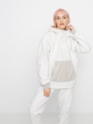 Mikina s kapucu00ed Nike Sherpa HD Wmn (phantom/string/white/white)