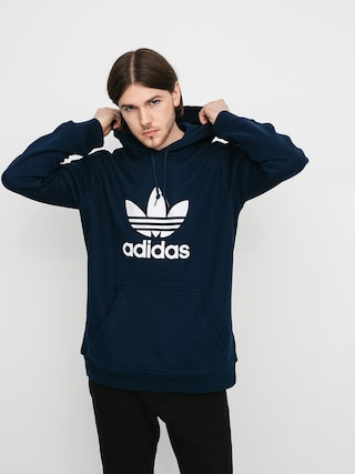 Mikina s kapucí adidas Originals Trefoil HD (collegiate navy/white)