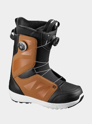 Boty na snowboard Salomon Launch Boa Sj Boa (rawhide/black/wh)