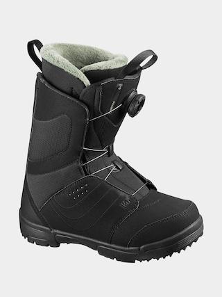 Boty na snowboard Salomon Pearl Boa Wmn (black/black/tropical p)