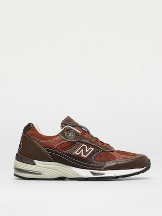 Boty New Balance 991 (brown multi)