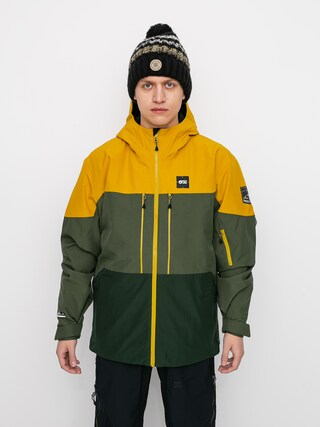 Snowboardovu00e1 bunda Picture Object (lychen forest green)