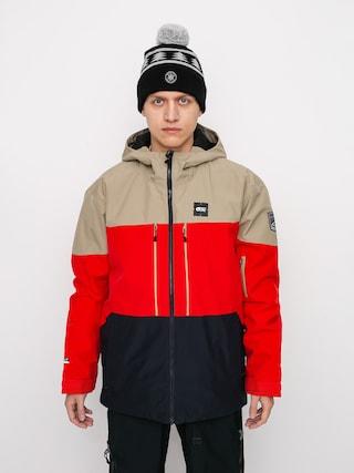 Snowboardovu00e1 bunda Picture Object (red dark blue)