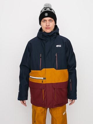 Snowboardová bunda Picture Pure (dark blue camel)
