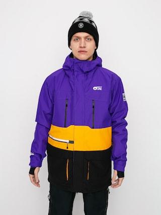 Snowboardovu00e1 bunda Picture Pure (purple yellow)