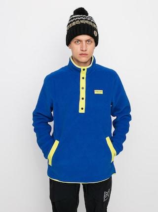 Fleecovu00e1 mikina Burton Hearth Pullover (lapis blue)