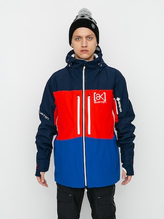 Snowboardovu00e1 bunda Burton Ak Gore Tex Swash (dress blue/flame scarlet/lapis blue)