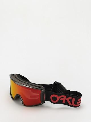 Bru00fdle na snowboard Oakley Line Miner XL (scotty james sig crystal black/prizm snow torch)