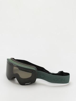 Brýle na snowboard Dragon NFXs (foliage/ll dark smoke/ll amber)
