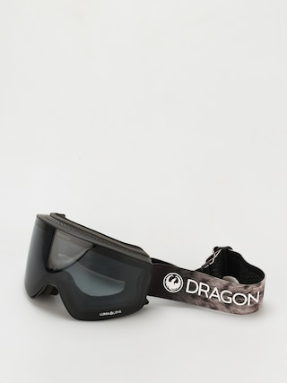 Bru00fdle na snowboard Dragon PXV2 (snow leopard/ll dark smoke/ll light rose)