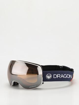 Brýle na snowboard Dragon X2 (camper/ll silver ion/ll yellow)