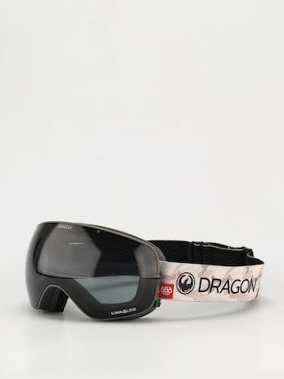 Brýle na snowboard Dragon X2s (686 camo/ll dark smoke/ll rose)