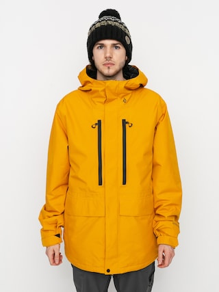 Snowboardovu00e1 bunda Volcom Ten Ins Gore Tex (resin gold)