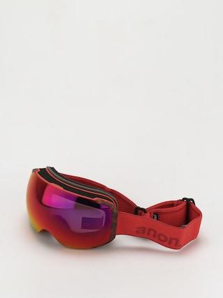 Bru00fdle na snowboard Anon M2 Mfi (red/perceive sunny red)