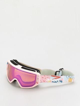 Bru00fdle na snowboard Anon Relapse Jr Mfi (pastel pink/pink amber)