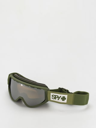 Bru00fdle na snowboard Spy Woot (colorblock olive  bronze w/siliver mirror persimmon)