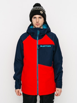 Snowboardovu00e1 bunda Burton Gore Tex Radial Insulated (flame scarlet/dress blue)
