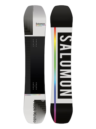 Snowboard Salomon Huck Knife (black/grey)