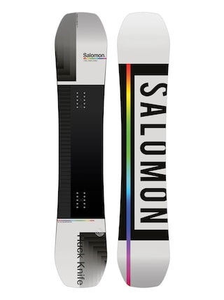 Snowboard Salomon Huck Knife (grey/black)