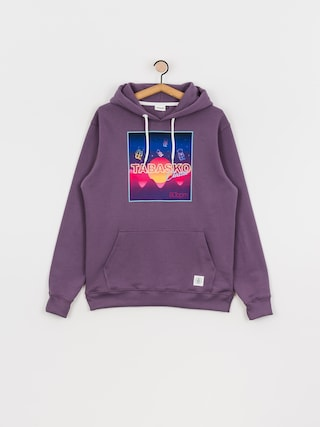Mikina s kapucí Tabasko Kosmos HD (purple)
