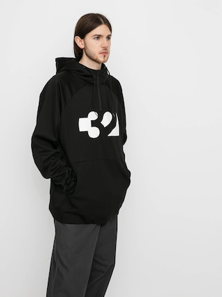 Mikina s kapucí ThirtyTwo Franchise Tech HD (black)
