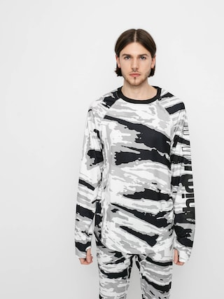 Spodnu00ed pru00e1dlo ThirtyTwo Longsleeve aktywny Ridelite Shirt Ls (white/camo)