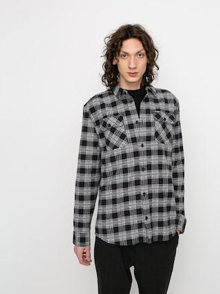 Kou0161ile RVCA Thatll Work Flannel Ls (black)