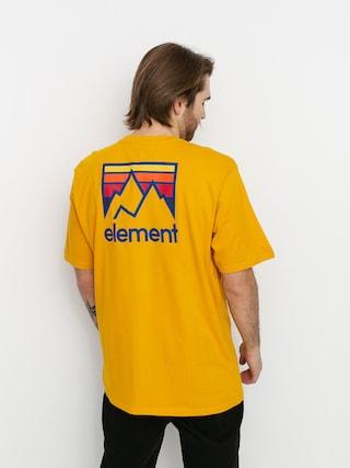 Tričko Element Joint (old gold)