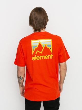 Tričko Element Joint (red clay)