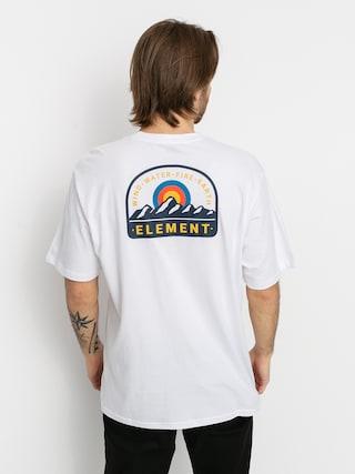 Tričko Element Stahl (optic white)