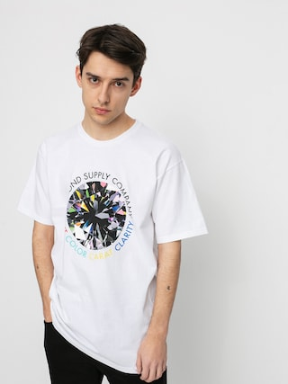 Tričko Diamond Supply Co. Clarity (white)