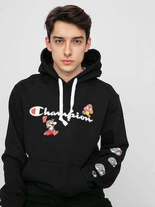 Mikina s kapucu00ed Champion X Nintendo Sweatshirt HD (nbk)