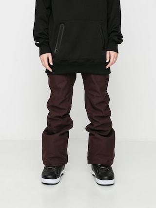 Snowboardovu00e9 kalhoty  Volcom Grail 3D Stretch Wmn (black red)