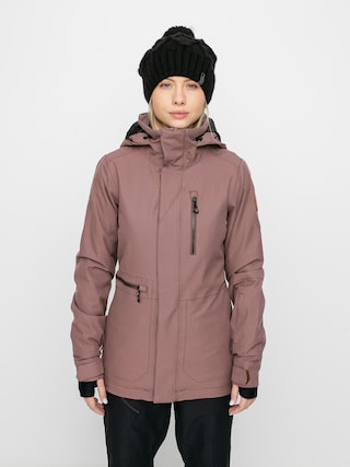 Snowboardovu00e1 bunda Volcom Shelter 3D Stretch Wmn (rose wood)