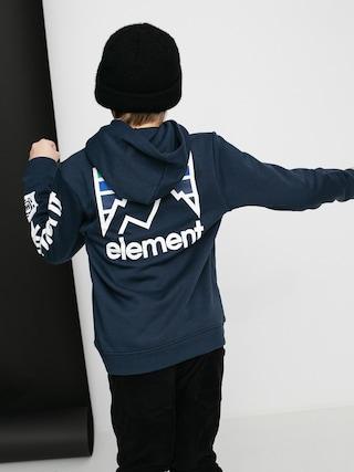 Mikina s kapucí Element Joint HD (eclipse navy)