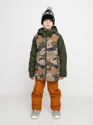 Snowboardovu00e1 bunda Burton Game Day (kelp birch camo)