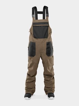 Snowboardovu00e9 kalhoty  ThirtyTwo Basement Bib (fatigue)
