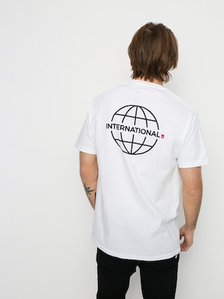 Tričko eS Grid Globe (white)