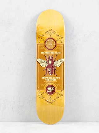 Deska Mob Skateboards Bee (yellow)