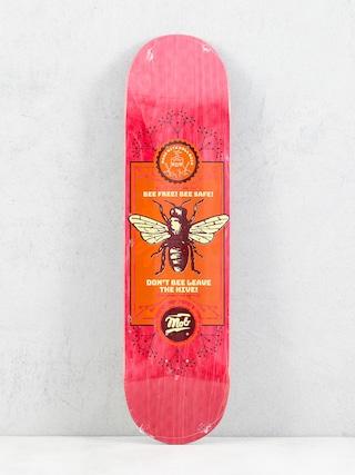 Deska Mob Skateboards Bee (red)