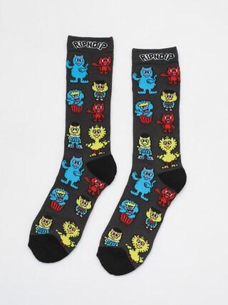 Ponožky RipNDip Nerm Street (black)